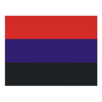 Dkr bandera de Ucrania Tarjetas Postales