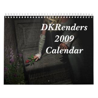DKRenders2009Calendar Calendario De Pared
