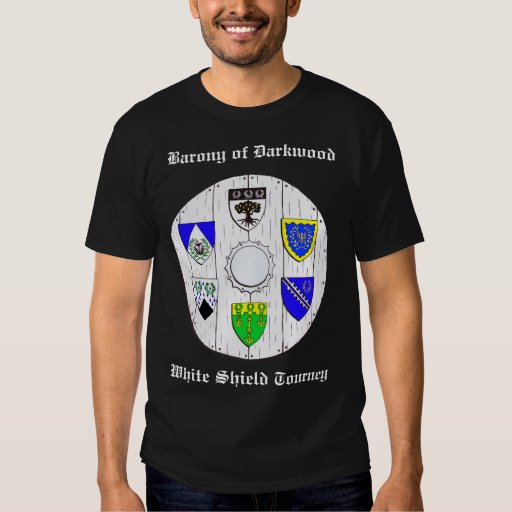 DKWD-CANTONS 2, Barony of DarkwoodWhite Shield ... T-Shirt