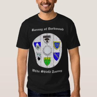 DKWD-CANTONS 2, Barony of DarkwoodWhite Shield ... Tee Shirt