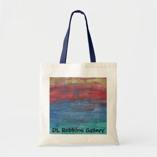 DL Robbins Gallery Tote Sunset over Lake