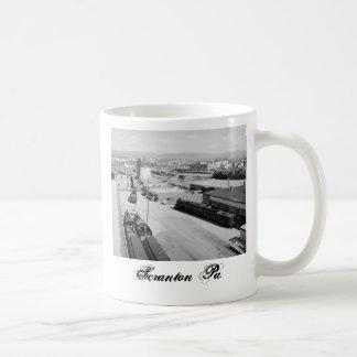 DL&W RR Yard Scranton Pa. Classic White Coffee Mug