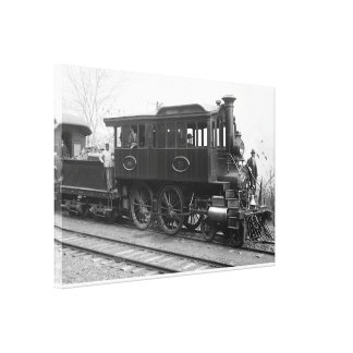 DL+ W Steam Inspection Locomotive Canvas Print