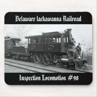 DL+ W Steam Inspection Locomotive Mouse Pad