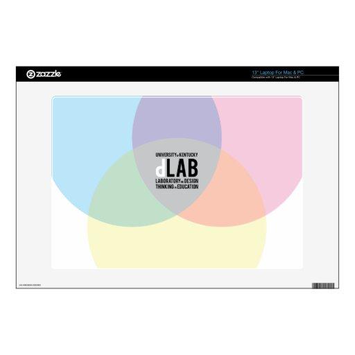 dLab Laptop Skin for 13 inch Mac or PC