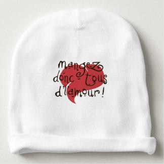 d'l'amour tous del donc del mangez gorrito para bebe