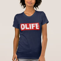DLIFE Navy T-Shirt