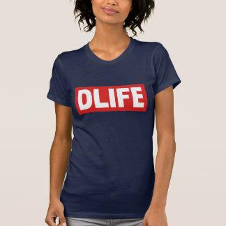 DLIFE Navy Tshirts