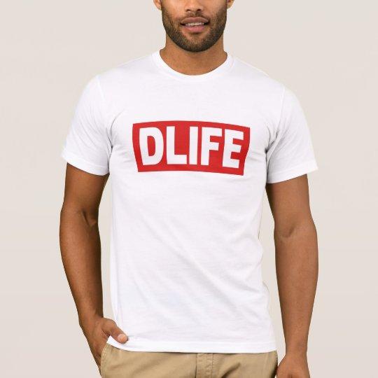DLIFE White T-Shirt