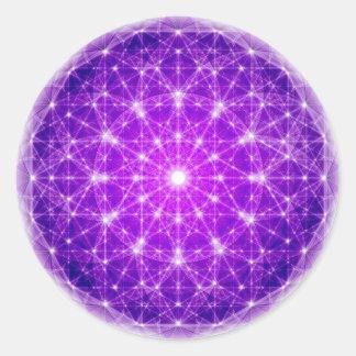 D'Light Full Mandala Classic Round Sticker