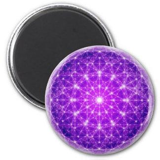 D'Light Full Mandala Refrigerator Magnet