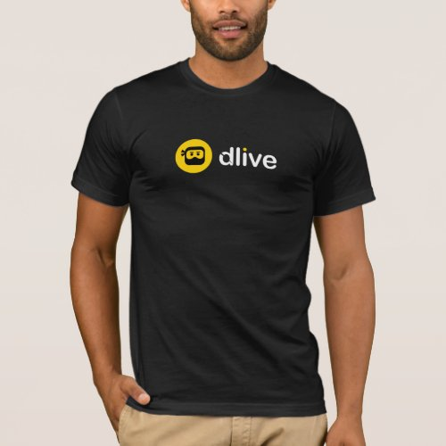 DLive Logo Front Chest T_Shirt
