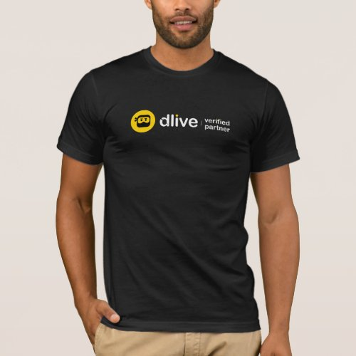 DLive Verified Partner T_shirt