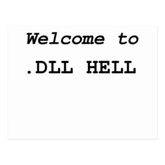 .DLL Hell Postcard