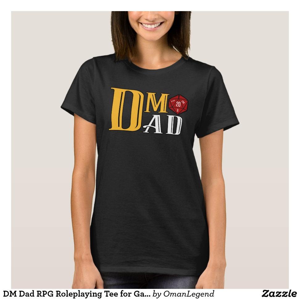 DM Dad RPG Roleplaying Tee for Gamer Father - Best Selling Long-Sleeve Street Fashion Shirt Designs