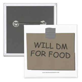 DM para la comida Pin