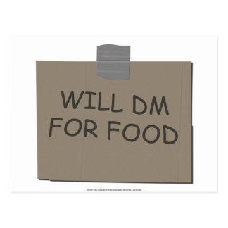 DM para la comida Postal