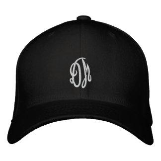 DM Script Embroidered Baseball Hat
