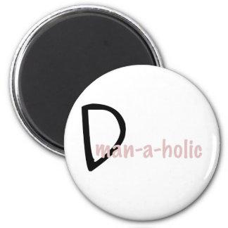 dman refrigerator magnet