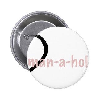 dman pinback button