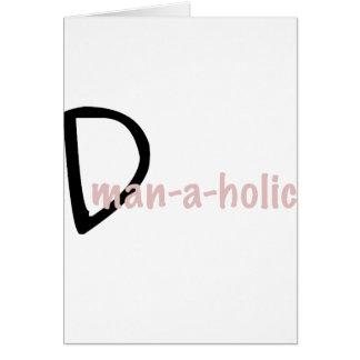 dman tarjeta de felicitación