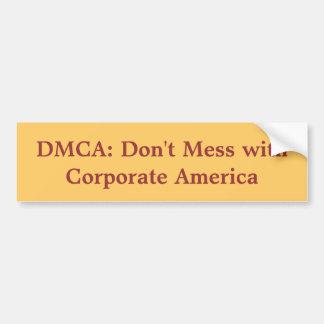 DMCA bumper sticker