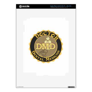 DMD DOCTOR OF DENTAL MEDICINE LOGO iPad 3 SKIN
