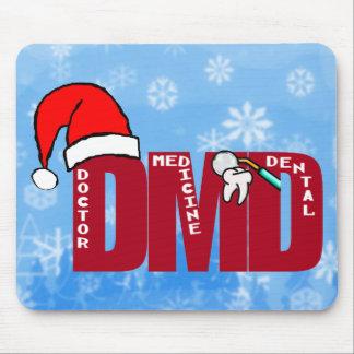 DMD  SANTA CHRISTMAS MOUSEPAD DENTIST