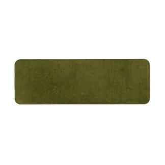 DMG DARK MOSSY GREEN BACKGROUND WALLPAPERS CUSTOMI RETURN ADDRESS LABEL