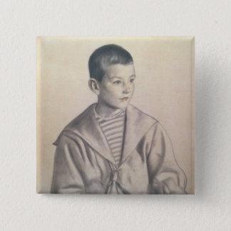Dmitri Dmitrievich Shostakovich  as a Child Button
