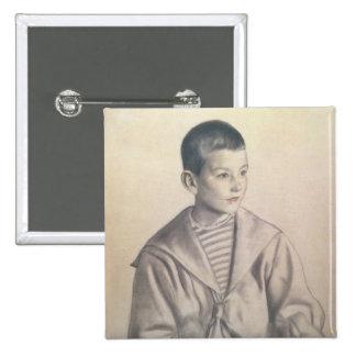 Dmitri Dmitrievich Shostakovich  as a Child 2 Inch Square Button