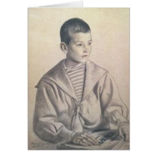 Dmitri Dmitrievich Shostakovich  as a Child Card