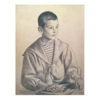 Dmitri Dmitrievich Shostakovich  as a Child Postcard