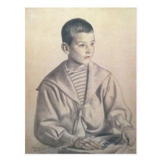 Dmitri Dmitrievich Shostakovich  as a Child Postcard