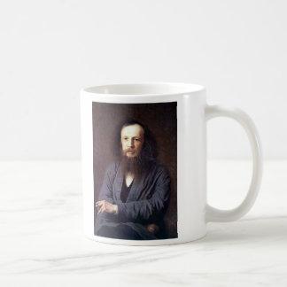 Dmitri Ivanovich Mendeleev by Ivan Kramskoy Coffee Mug