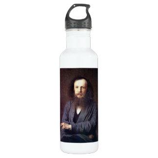Dmitri Ivanovich Mendeleev by Ivan Kramskoy 24oz Water Bottle