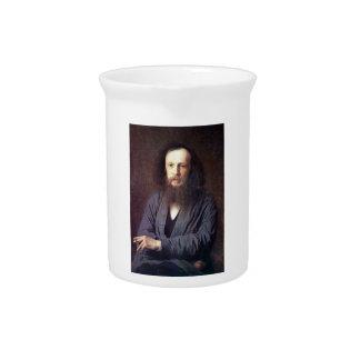 Dmitri Ivanovich Mendeleev by Ivan Kramskoy Pitcher