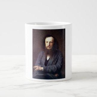 Dmitri Ivanovich Mendeleev by Ivan Kramskoy Extra Large Mugs