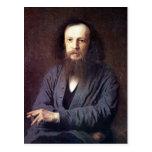Dmitri Ivanovich Mendeleev de Ivan Kramskoy Postal
