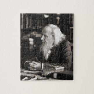 Dmitri Ivanovich Mendeleev Portrait Puzzle
