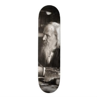 Dmitri Ivanovich Mendeleev Portrait Skateboard Deck