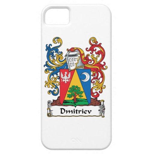 Dmitriev Family Crest iPhone 5 Cases