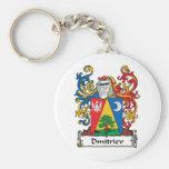 Dmitriev Family Crest Key Chains