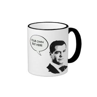 Dmitriy Medvedev International Leader -.png Ringer Coffee Mug