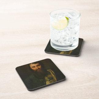 Dmitry Levitzky- Portrait of A. I. Borisov Beverage Coasters