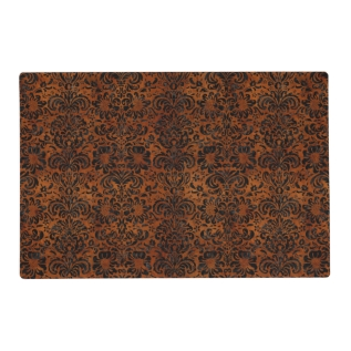 Dms2 Bk Marble Burl (r) Placemat at Zazzle