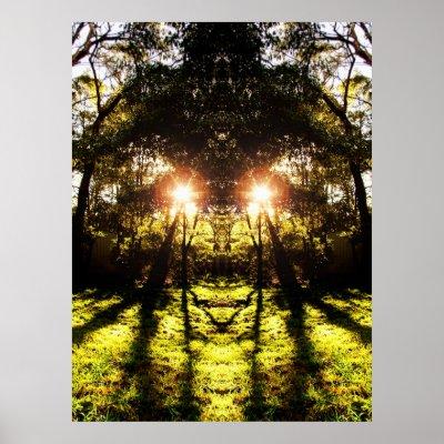 DMT 'AURUS Forest Poster print