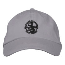 DMV Black Logo Baseball Hat