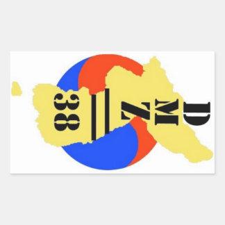 DMZ//38 Logo Sticker