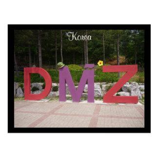 dmz korean postcard